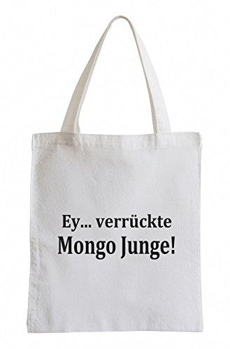Ey... verrückte Mongo Junge! New Kidz TurboFun Party Clubwear Jutebeutel