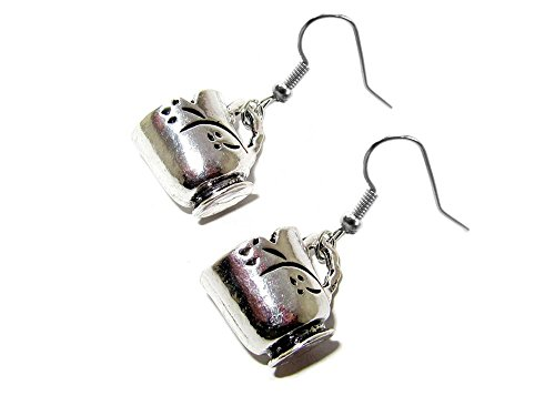 Dangle Earrings Once Upon a Time Chipped Cup In Gift Box by Superheroes ()