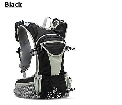 XUSHSHBA Running Bag 12L Large Marathon Trail Running Backpack Hydration Vest Pack for 2L Water Bladder