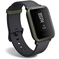 Amazfit BIP smartwatch by Huami with all-day heart rate and activity tracking, sleep monitoring, GPS, 30-day battery life, Bluetooth (Green)