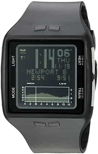 Vestal Unisex BRG030 Brig Digital Square Black Watch