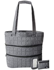 Lug Taxicab Full Tote, Midnight Black, One Size