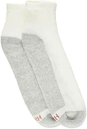 Hanes Men's Cushion Ankle Socks, 6-Pack