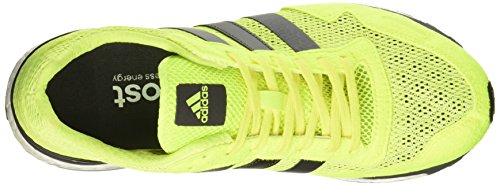 adidas Adizero Adios 3, Scarpe da Corsa Uomo Giallo (Solar Yellow/Utility Black/Footwear White)