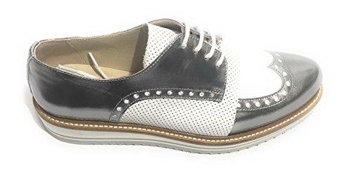mujer Zapatos cordones N BARBATO By YOX de para qzyt0ac4