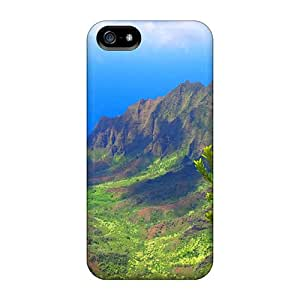 Flexible Tpu Back Case Cover For Iphone 5/5s - Hawaii