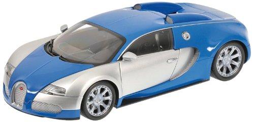 Minichamps 100110850 - Bugatti Veyron Edition Centenaire, Maßstab: 1:18, chrom/blau