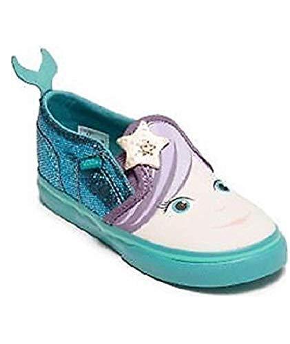 Vans Asher V Mermaid Blossom/Latigo Toddler Girl Shoes (6 M US -