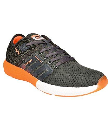 Buy Campus Men's Grey Mesh Running Shoe