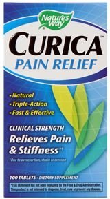 Nature's Way Curica Pain Relief Tablets, 100 Count
