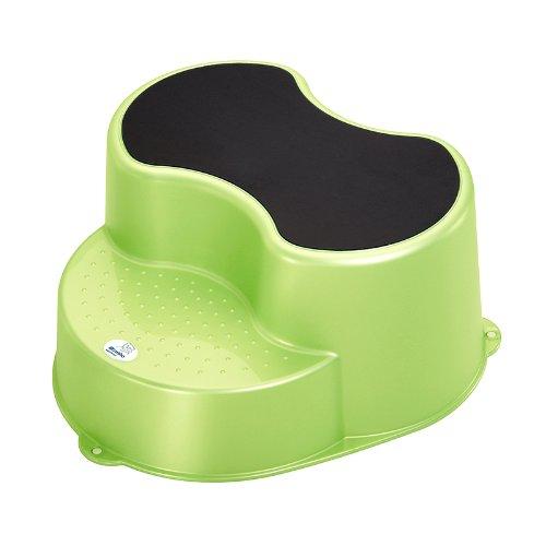 4 opinioni per Rotho Babydesign, Sgabello per bambini a 2 piani, Verde (lindgrün perl)