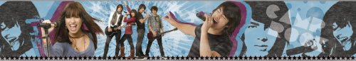 - Blue Mountain Wallcoverings DS026454 Camp Rock Self-Stick Wall Border