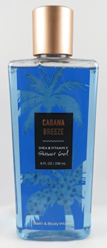 - Bath & Body Works Cabana Breeze 8 Ounce Shower Gel Wash