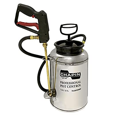 Chapin 10800 1.5-Gallon Professional Stainless Steel Pest Control Sprayer (1 Sprayer/Package)