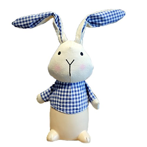 Eastyle Cute Bunny Rabbit Piggy Bank Money/Coin Bank for Kids Girls Boys Gift Blue by Eastyle