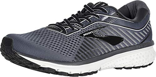 Brooks Men's Ghost 12 Black/Pearl/Oyster 10.5 D US (The Best Brooks Running Shoes)