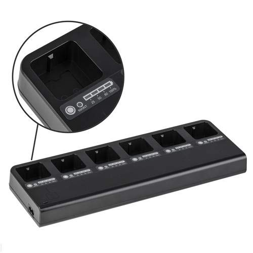 Flashpoint MB-6 Multi Battery Charger for The eVOLV 200 Pocket Flash