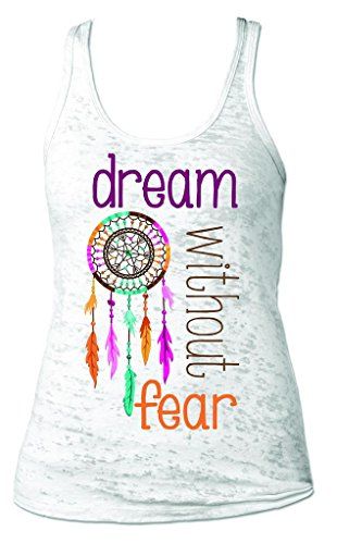Sticker Shop Unlimited Inspirational Quote Loose Fitting Razorback Women's Fitness Tanktop