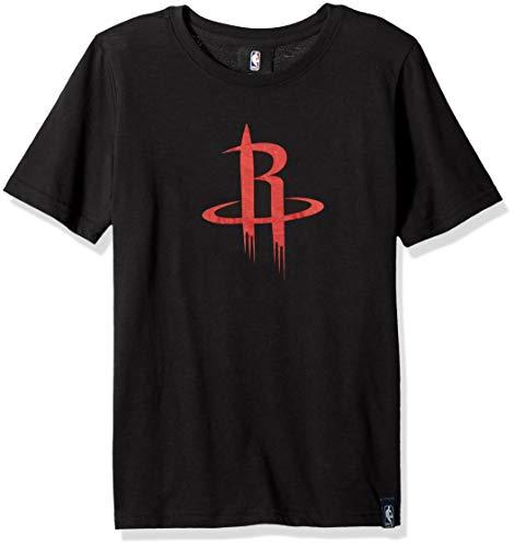 Outerstuff NBA NBA Youth Boys Houston Rockets Tactical Ultra Short Sleeve Tee, Black, Youth Medium(10-12)