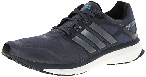 quality design dce0c 86c33 adidas Performance Men s Energy Boost 2 M Cushioned Running Shoe, Bold Onyx Solar  Blue, 10 M US - Buy Online in UAE.   Shoes Products in the UAE - See ...