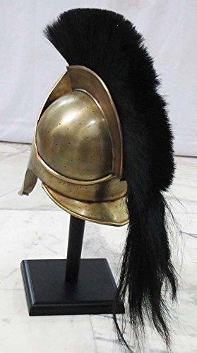Réplica de casco griego del Rey Leonidas de la película 300, THORINSTRUMENTS: Amazon.es: Deportes y aire libre