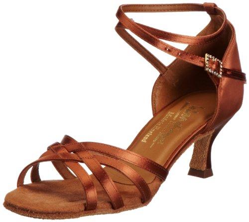 International Dance Shoes, Melissa, Zapatillas de Danza, Mujer Marrón (Tan Satin)