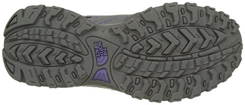 The North Face Hedgehog, Botas de Senderismo para Niños Varios colores (Quick Silver Grey /     Purple)