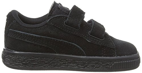 Silver Puma Nero Unisex Inf – 52 puma Sneaker 2 Bambini Basse Black Suede Straps Puma zRnaSYOvS