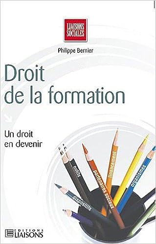 Téléchargement Droit de la formation et des compétences pdf ebook