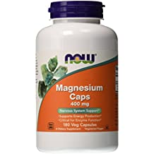 Now Foods Magnesium 400 MG Capsules