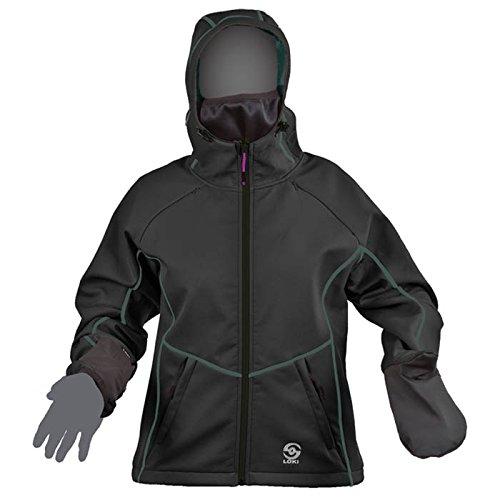 Loki Mtn Jacket Wmns Extreme Blk Sm C1420046 by Loki