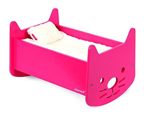 Janod Babycat Pink Cradle
