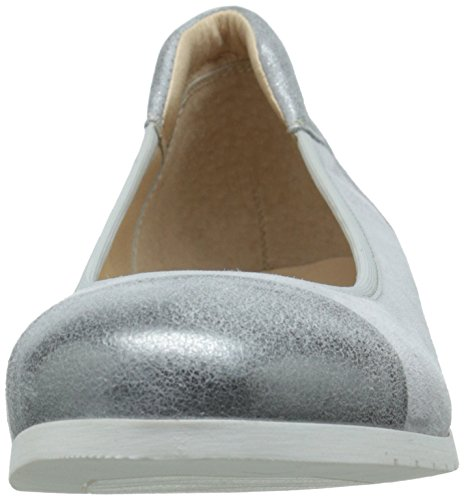 French Sole Fs / Ny Womens Oblige Flat Light Grey