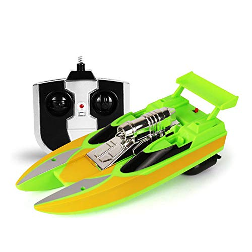 Mini Yacht Pond - Remote Control Boats for Pools and Lakes RC Racing Boat with Remote Control High Speed Boat Radio Control Mini Racing Yacht Self Righting Boat Toys for Kids and Adults