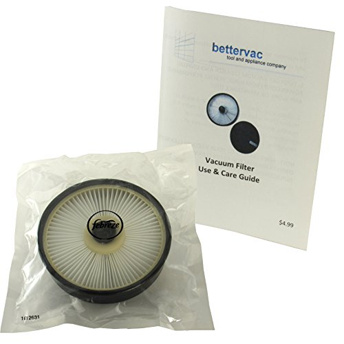 Bissell Pet Hair Eraser Lift-Off Upright Pet Sealed Febreze Filter #1612632 Bundled With Use & Care Guide