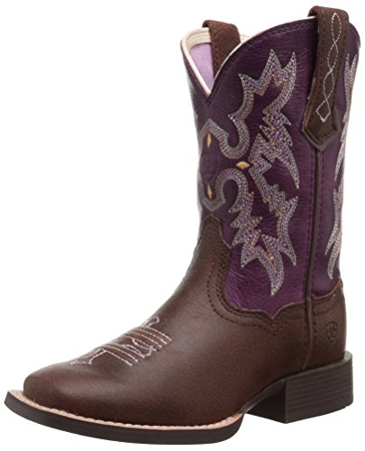 Kids' Tombstone Western Cowboy Boot, Vintage Bomber/Plum, 10 M US Toddler