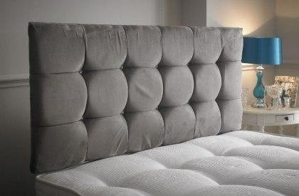 Best Quality Cubic 4ft6in Headboard 24 Inch Height With Various