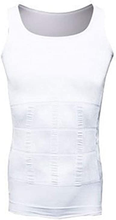 Camiseta Adelgazante para Hombre Chaleco de Neopreno Abdomen Camisa Delgada Camiseta sin Mangas de compresión Shaperwear: Amazon.es: Ropa y accesorios