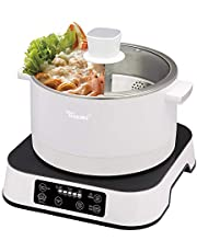 Toyomi SSB 6625 Up and Down Smart Steamboat, 2.5L, 1500, White