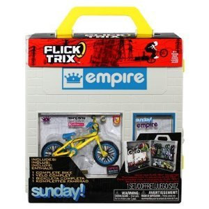 Flick Trix Display Case And Bike Empire And Sunday