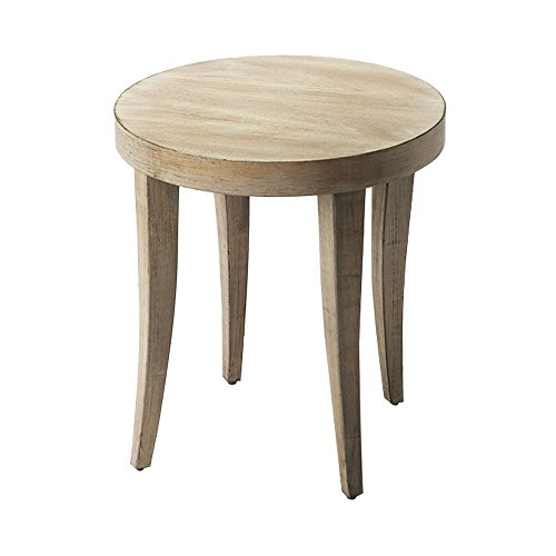 Home Decorative Driftwood Finish Round Bunching Table