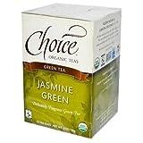 Choice Teas Gourmet Teas Jasmine Green 16 tea bags - 3PC