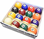 "HAN'S DELTA Pool Table Billiard Ball Set - 2-1/16"" Full 16 Pool"