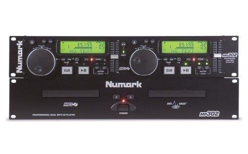 Find Cheap Numark MP302 Rack-Mount Dual MP3/CD Player