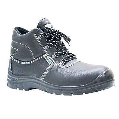 07469d7bf Vaultex Leather Safety Shoes (Vaul-SGH) Size 45: Amazon.ae: Misar ...