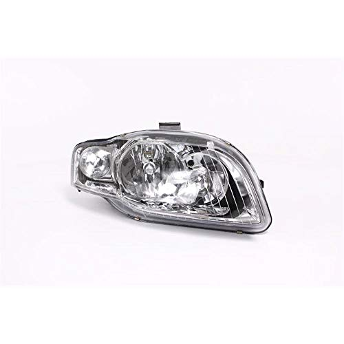 Right Driver Side Headlamp Front Head Light (With Clear Indicator Lamp +Motor):