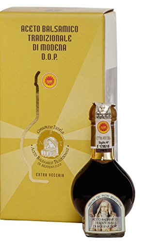 TRADITIONAL BALSAMIC VINEGAR PDO 25 YEARS 1 Colour: Dark brown but full of warm light Texture: Dense, with a fluid and syrup-like consistency Fragrance: Complex, sui generis, sharp and unmistakeably but pleasantly acid