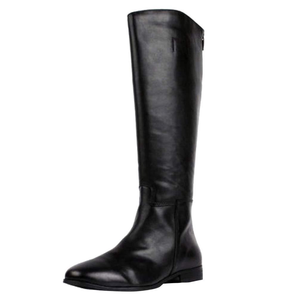 negrob botas De Montar De Invierno Largas De Caucho botas Martin - botas De Lluvia Impermeables botas De Fácil Limpieza zapatos Duraderos Y Resistentes