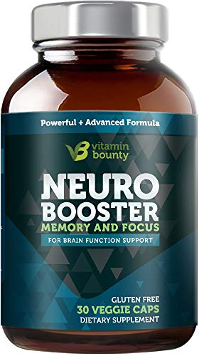 Vitamin Bounty – Neuro Booster – Memory, Focus & Clarity – Caffeine Free & All Natural (30) Review