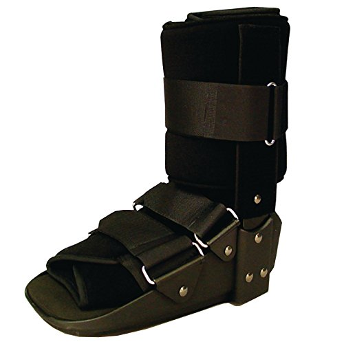 (Sammons Preston Low Profile Fixed Ankle Walker Low, Small, Comfort Brace for Recovery and Rehabilitation, Medical and Patient Use for Fractures, Ankle Sprains, Foot Injuries, Long Time Wear)